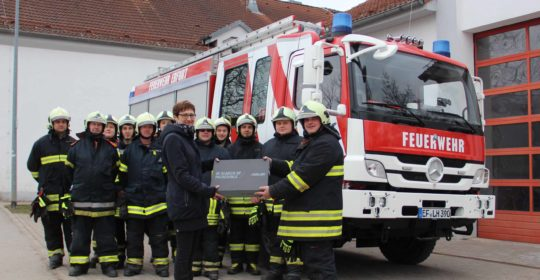 Spende an die Freiwillige Feuerwehr in Erfurt-Stotternheim