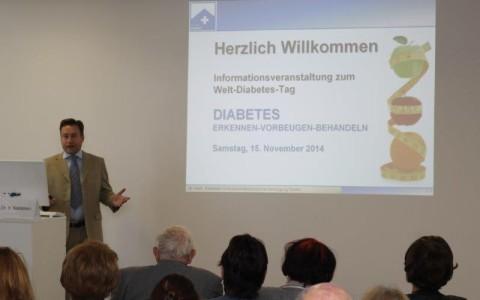 Mehr als 70 Besucher zum Diabetes Tag am Standort Polyklinik in Erfurt