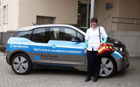 Wir suchen Verstärkung – RETTUNGSSANITÄTER für allgemeinärztlichen Hausbesuchsdienst (m/w) / Arbeitsort Erfurt