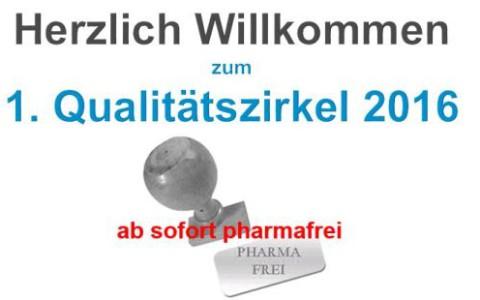 1. Qualitätszirkel Diabetologie 2016 – ab sofort pharmafrei