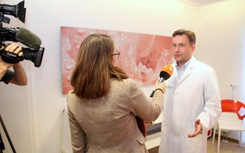 Grippewelle im Osten und Norden – Das ZDF berichtet vom MVZ Praxisstandort An der Ringwiese in Jena