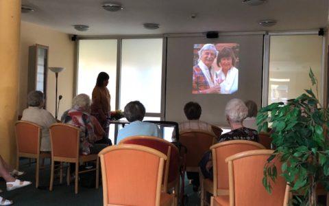 Patientenvortrag über Nepal mit Frau Dr. Winker