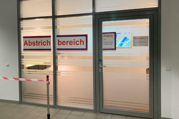 Abstrichstelle am Standort Polyklinik ab jetzt in der Diabetologie