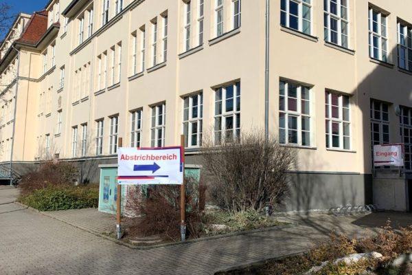 COVID-19 Abstrichstelle am Standort Polyklinik ist umgezogen